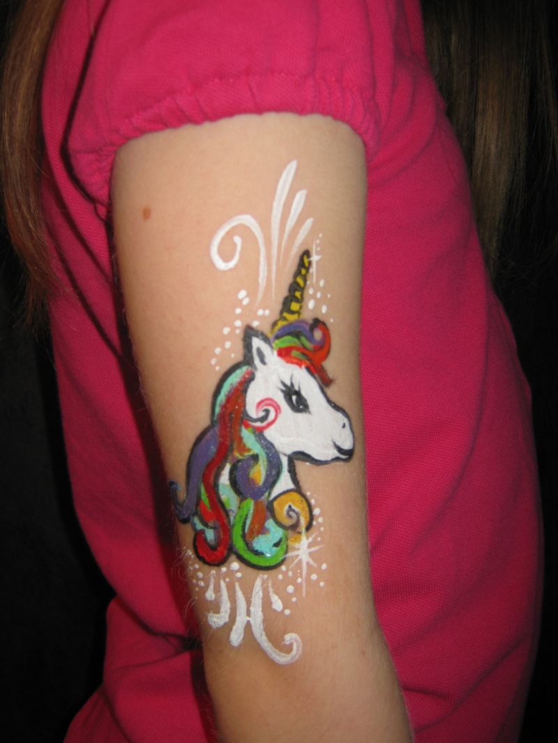 Unicorn arm design